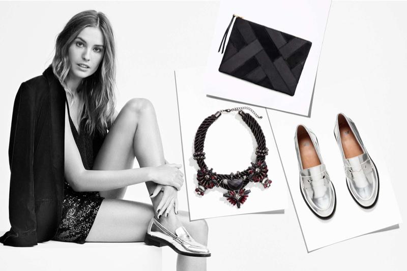 Nadja Bender stars in H&M trend guide