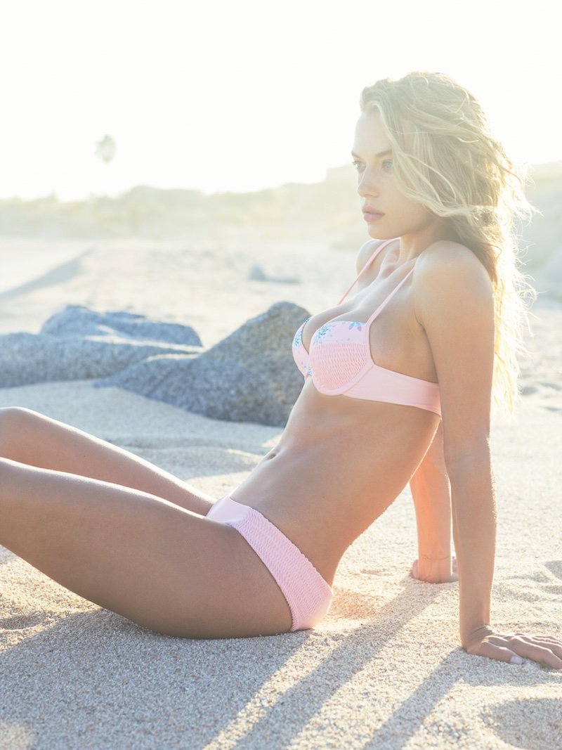 Hannah Ferguson Soaks Up The Sun In Tori Praver Swimsuits