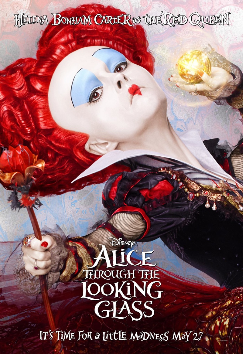 39 alice through the looking glass 39 2015 movie posters for Balthus alice dans le miroir