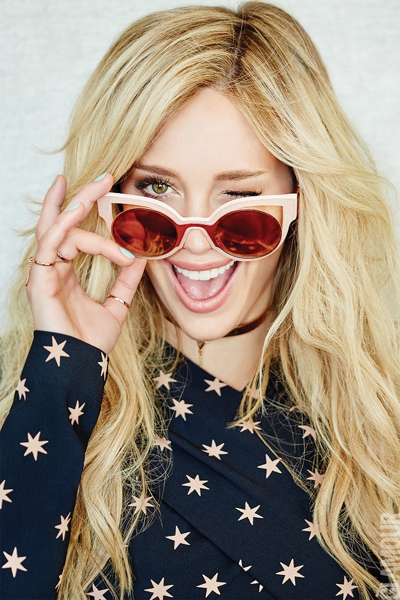 Hilary Duff is All Smiles for GLAMOUR Mexico by Frankie Batista