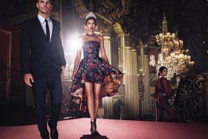 Irina Shayk Looks Like Royalty for Bebe Campaign