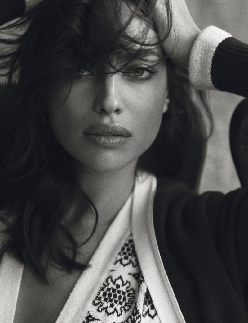 Irina Shayk stars in Harper's Bazaar Spain's December issue