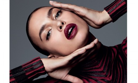 Irina Shayk models makeup looks for Harper's Bazaar Spain
