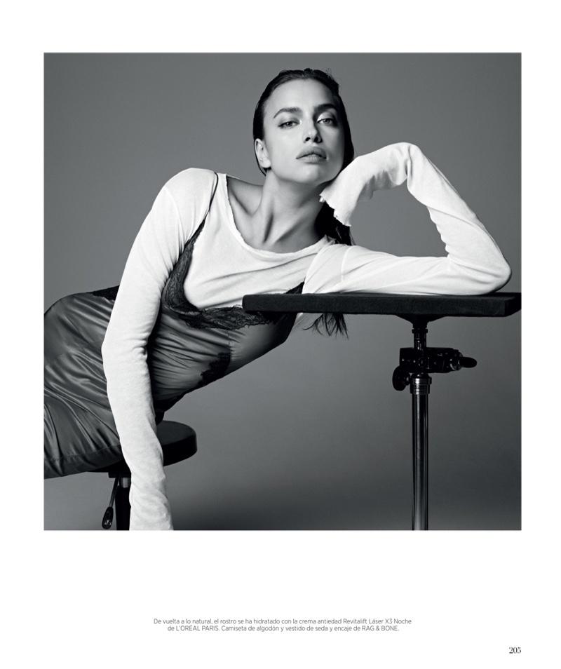 The top model poses for Nagi Sakai in the striking portraits