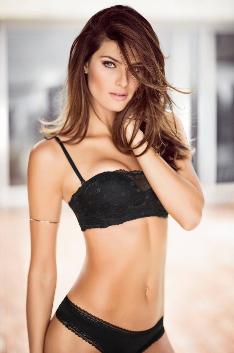 Isabeli Fontana stars in a campaign for Leonisa Lingerie