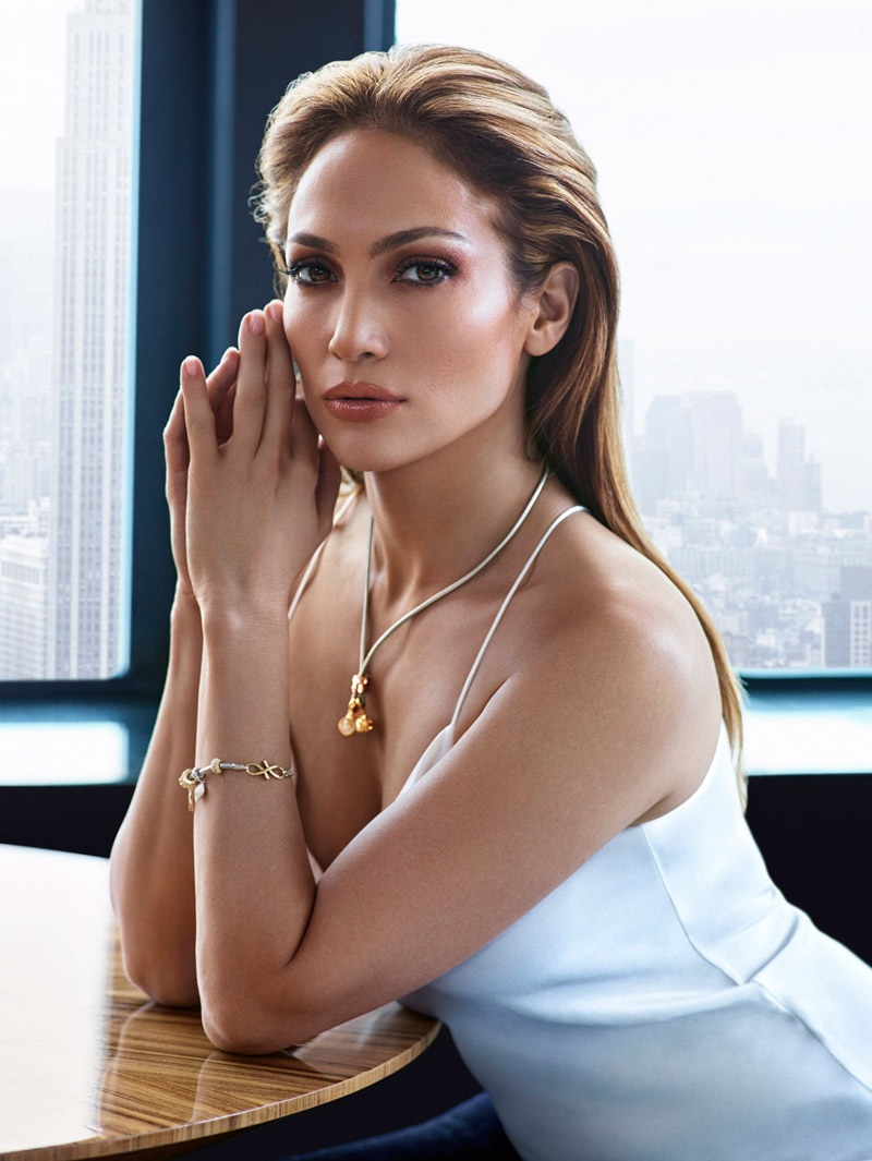 Jennifer Lopez Turns Up the Glam for New Clothing Shoot by Hunter & Gatti