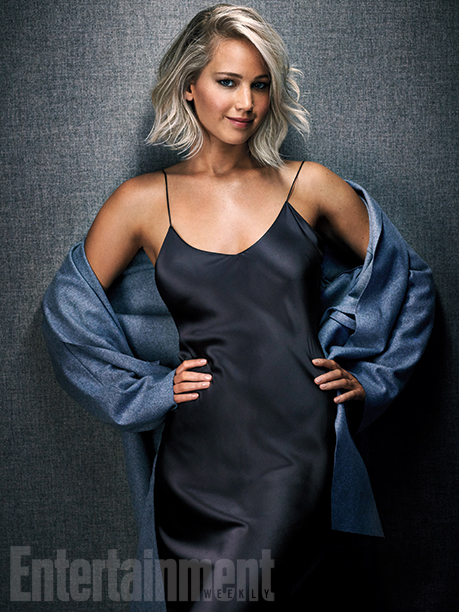 Jennifer Lawrence stars in Entertainment Weekly's December issue