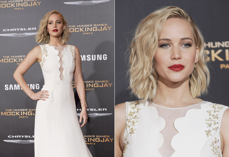 Jennifer Lawrence Continues to Dazzle in Dior at 'The Hunger Games' LA Premiere