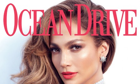 Jennifer Lopez on Ocean Drive Magazine cover