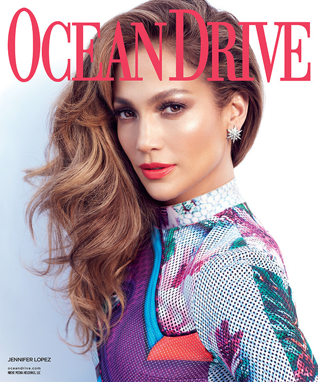 Jennifer Lopez Covers Ocean Drive & Talks Las Vegas Costumes