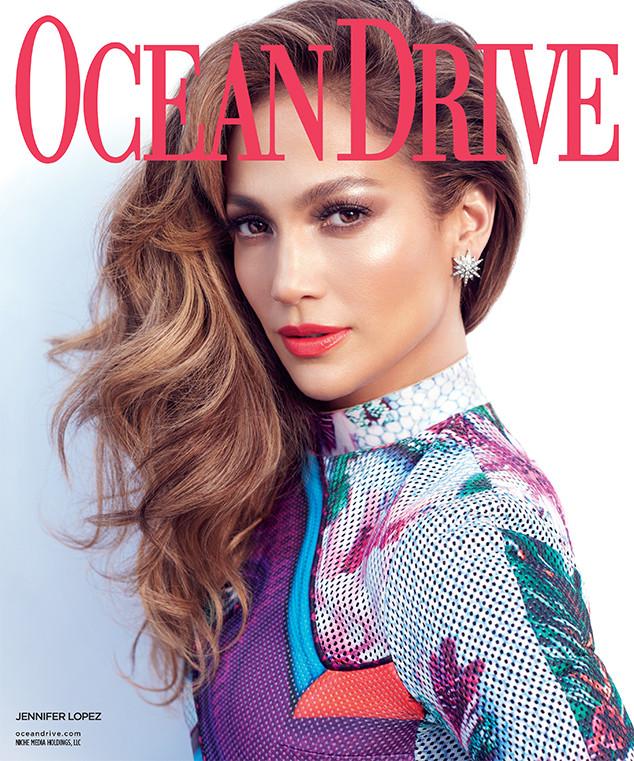 Jennifer Lopez Covers Ocean Drive & Talks Las Vegas Costumes