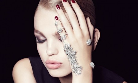 Daphne Groeneveld stars in Bergdorf Goodman's November issue