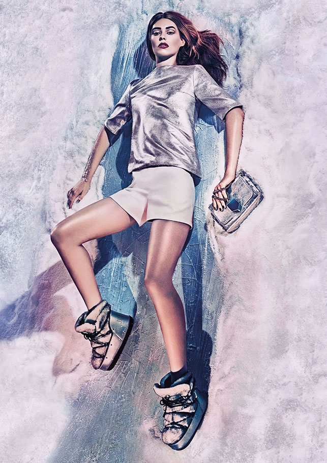 An image from Jimmy Choo's cruise 2016 campaign