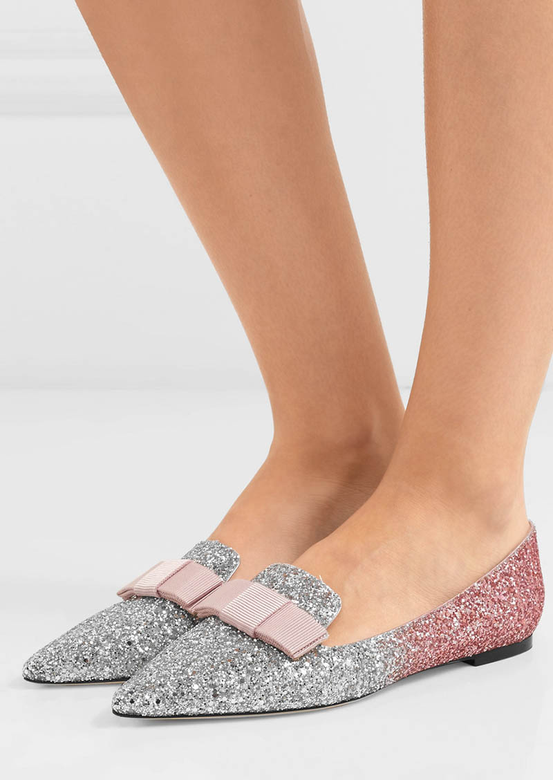 8 Sparkly Flats for Going Out