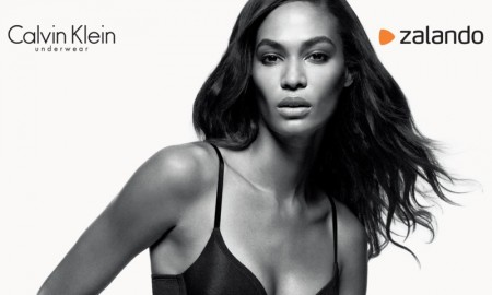 Joan Smalls for Calvin Klein x Zalando Underwear campaign