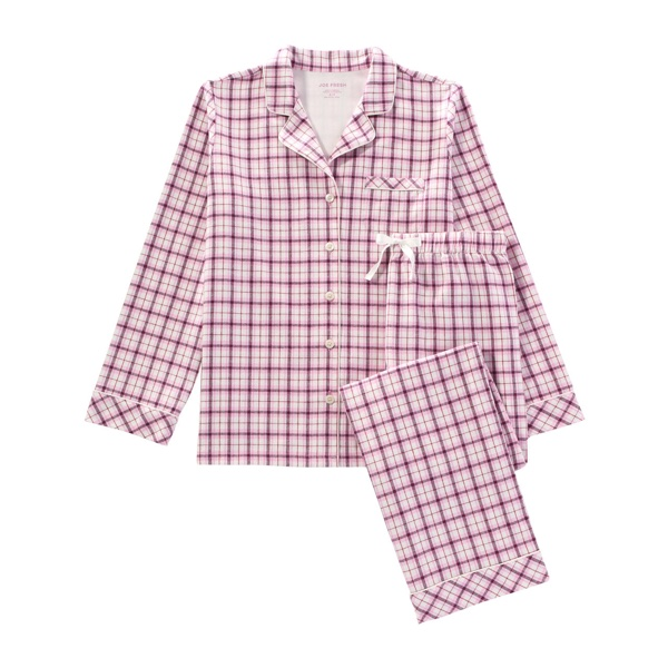 Joe Fresh Flannel Print Pajama Set