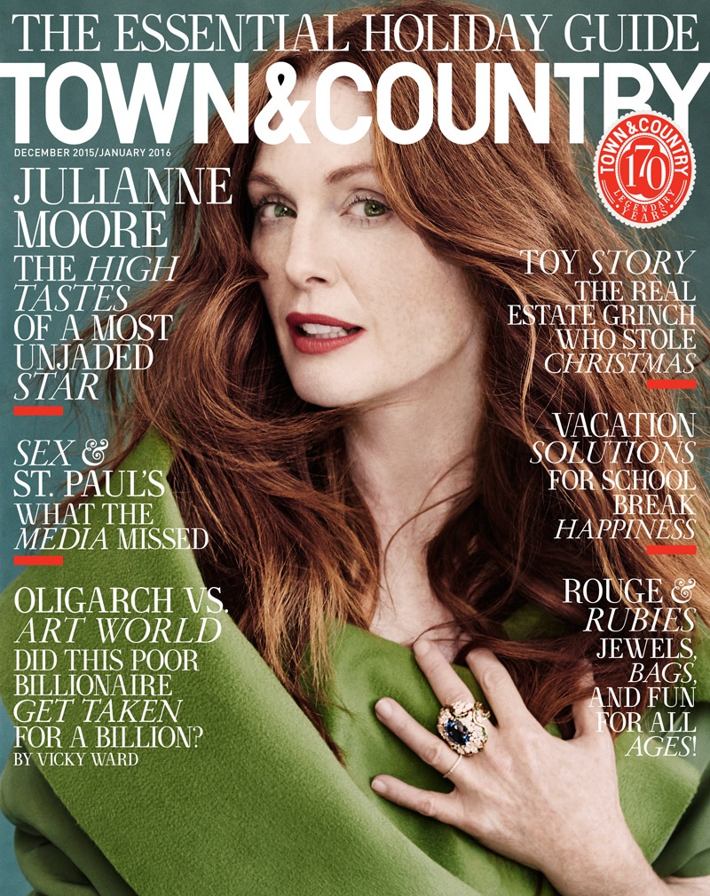 Julianne Moore Stars in Town & Country, Reveals Favorite Part About Acting