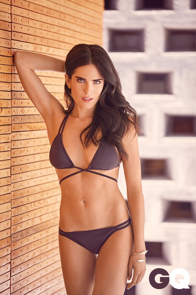 HTGAWM Star Karla Souza Flaunts Bikini Body for GQ Mexico