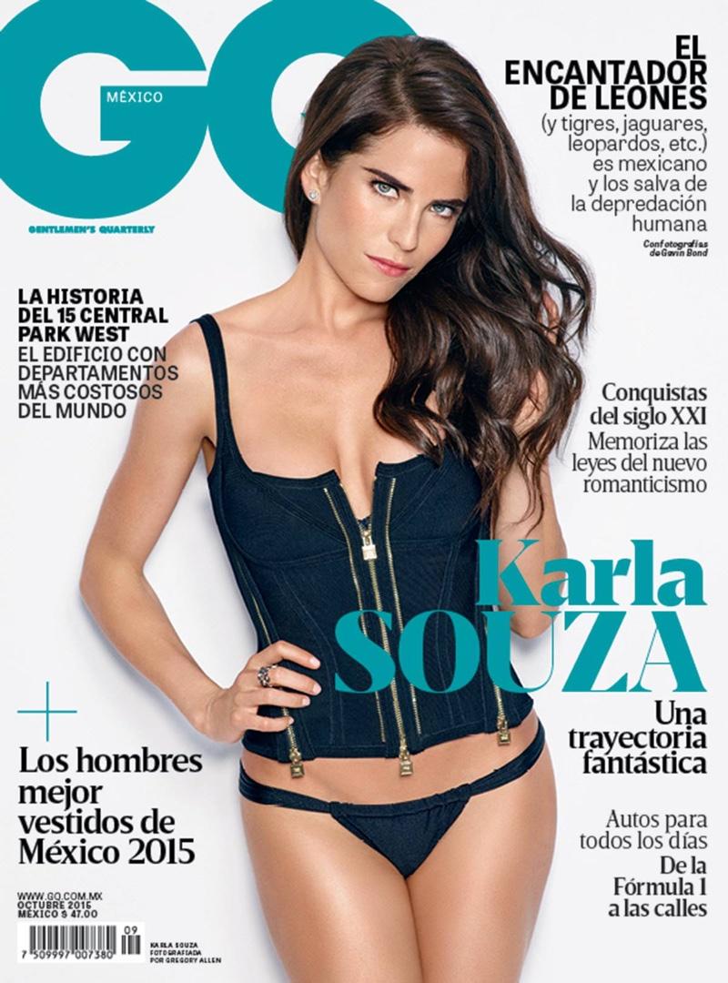Karla Souza on GQ Mexico October 2015 cover