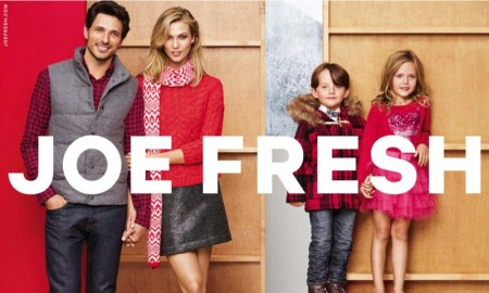 Karlie Kloss stars in Joe Fresh's holiday 2015 campaign