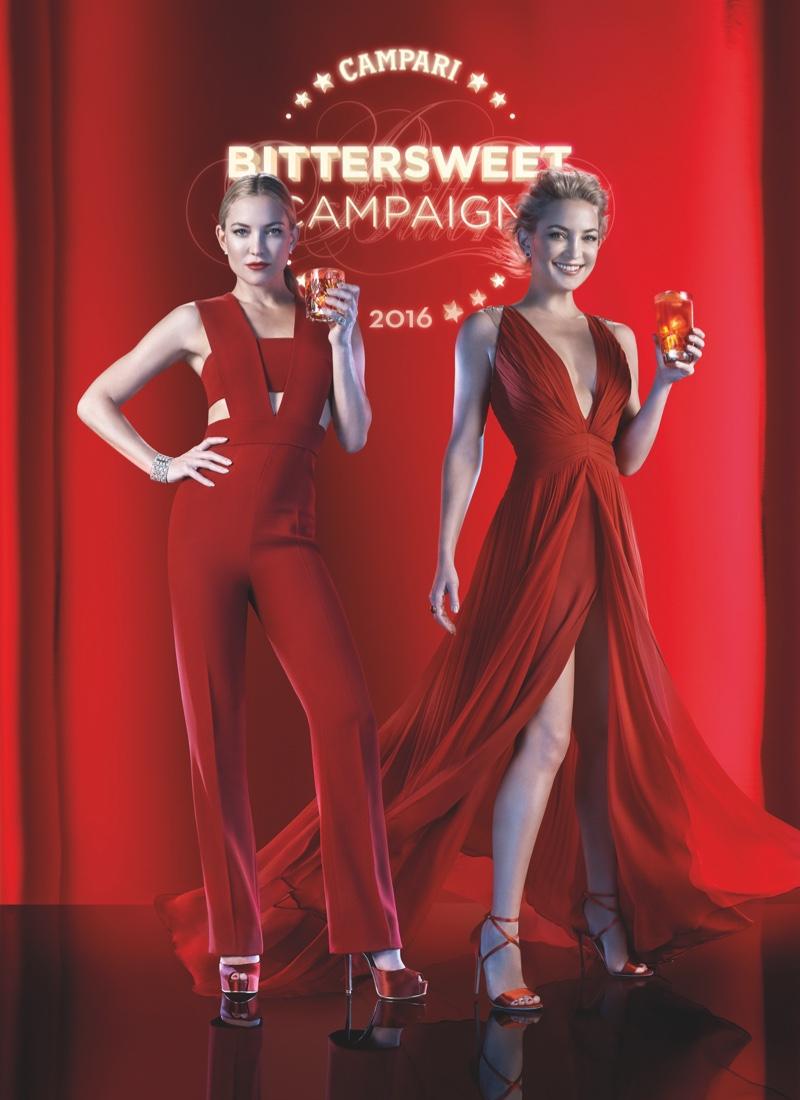 Kate Hudson stars in Campari 2016 calendar