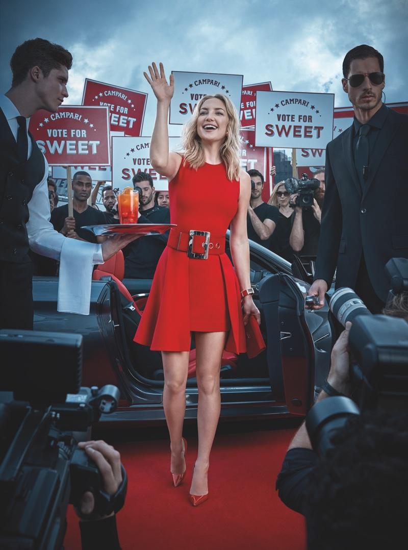 Kate Hudson for Campari (February)