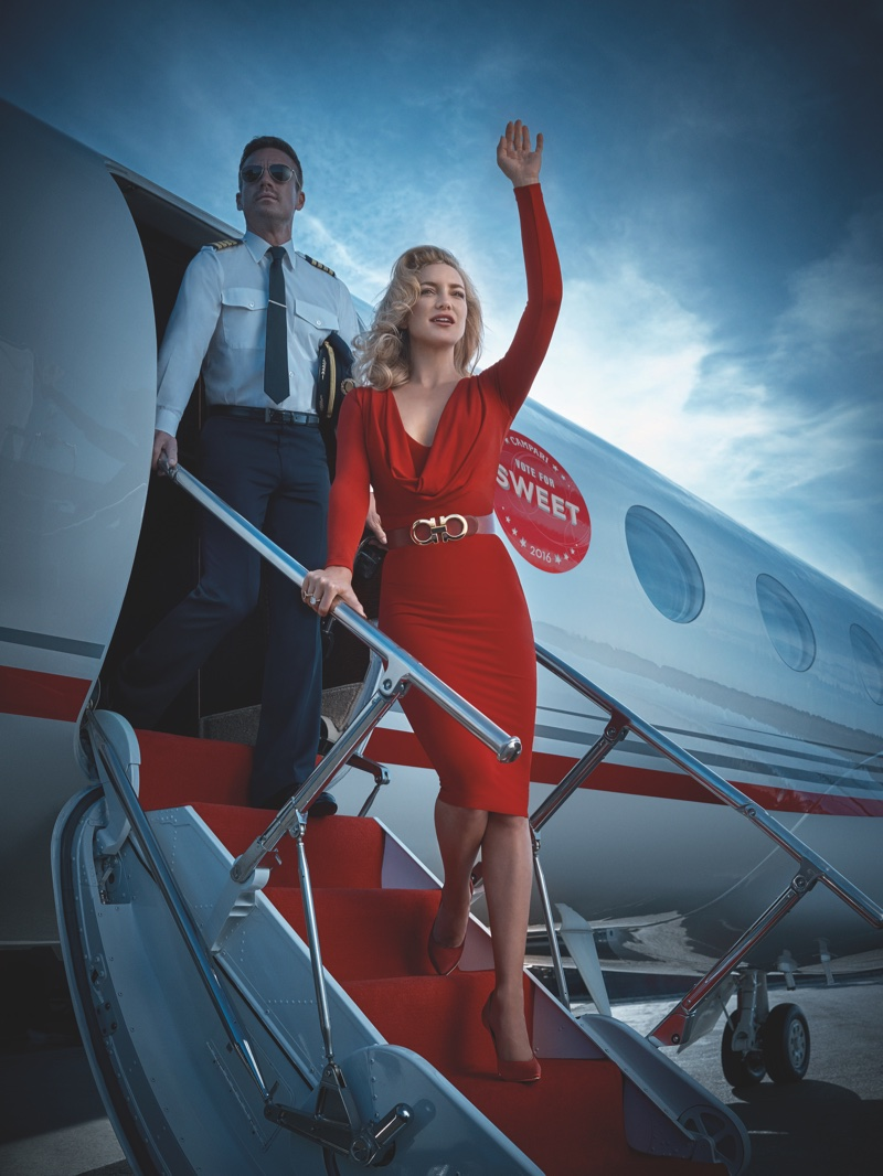 Kate Hudson for Campari (April)
