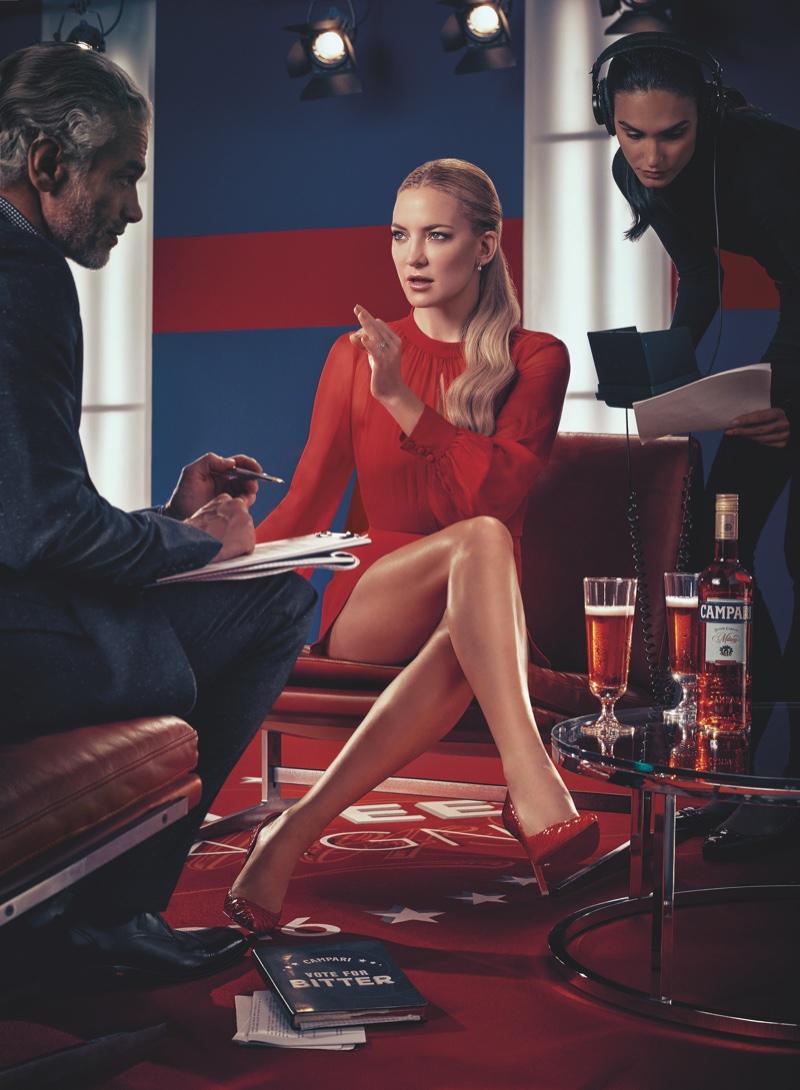 Kate Hudson for Campari (May)