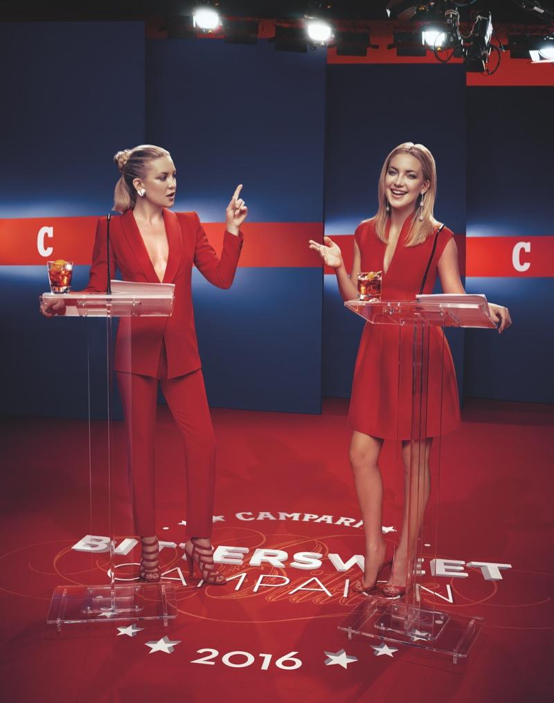 Kate Hudson for Campari (September)