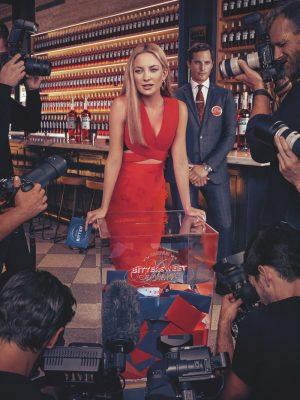 Kate Hudson Wears Red-Hot Looks in Campari's 2016 Calendar