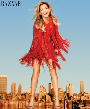 Kate Hudson Covers BAZAAR, Talks Being Single