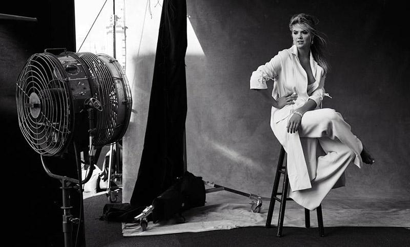 Kate Upton poses in Harper's Bazaar Australia's December issue
