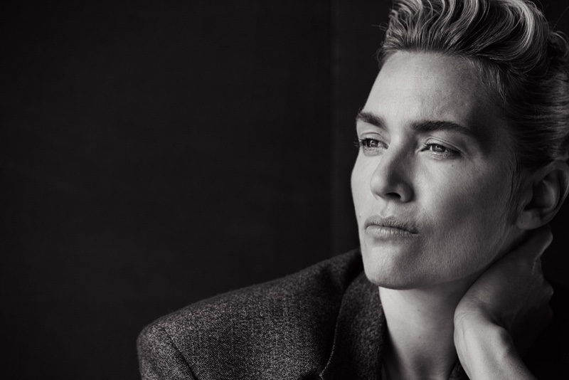 Kate Winslet Suits Up for Peter Lindbergh Shoot in L'Uomo ... кейт бланшетт