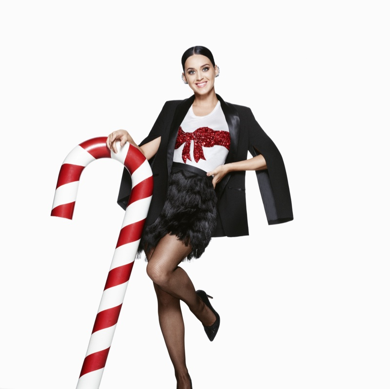 Katy Perry stars in H&M's Christmas 2015 campaign