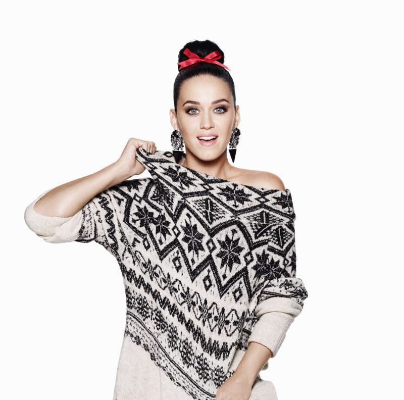 Katy Perry for H&M Christmas 2015