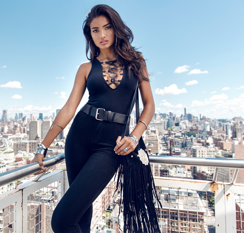 Kelly Gale Rocks Fall Trends for Nelly