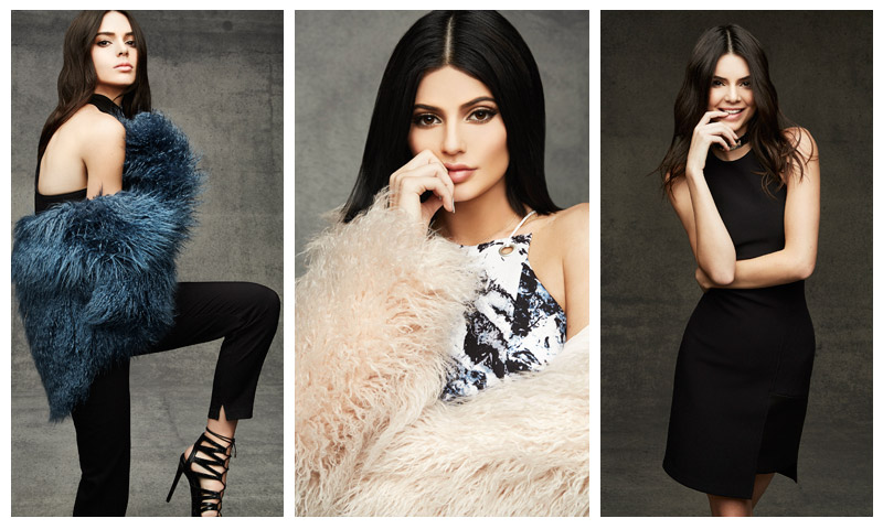 Kendall and Kylie Jenner launch Topshop holiday 2015 collaboration