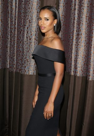 Kerry Washington Proves That the LBD Never Goes Out of Style