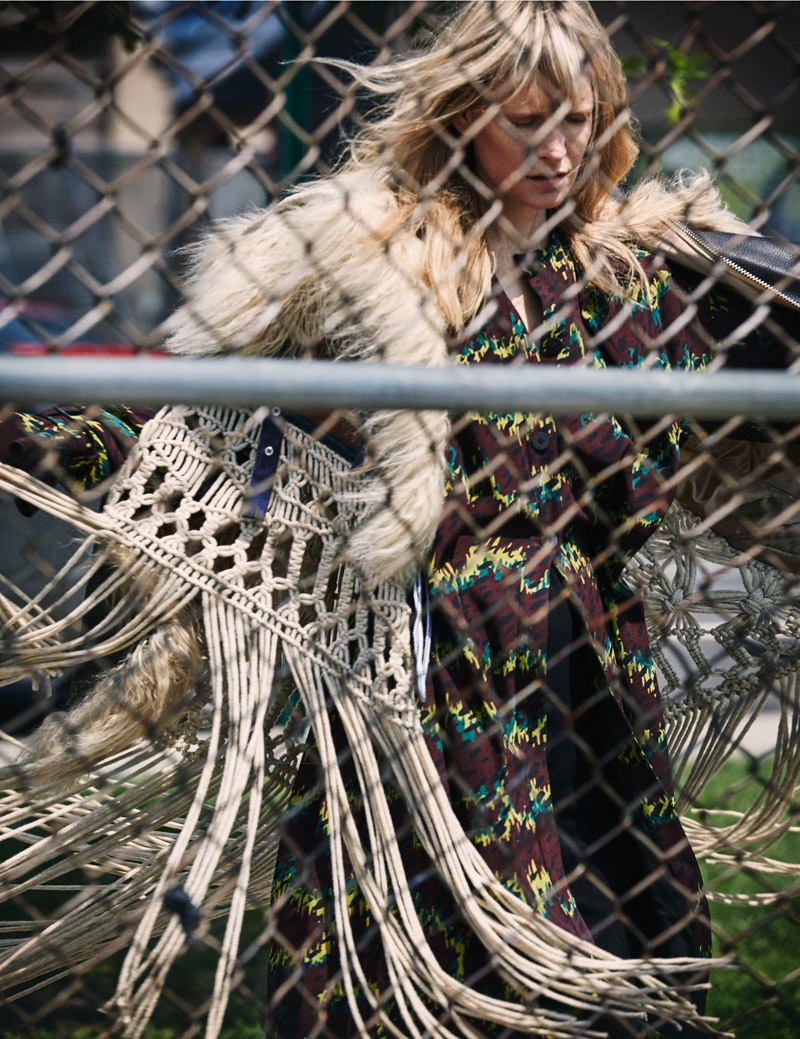 Kirsten Owen Models Boho Chic Looks for Vogue Ukraine by Riccardo Vimercati