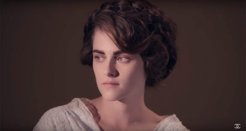 Kristen Stewart Wears Glamorous Looks In Trailer For New Chanel Film