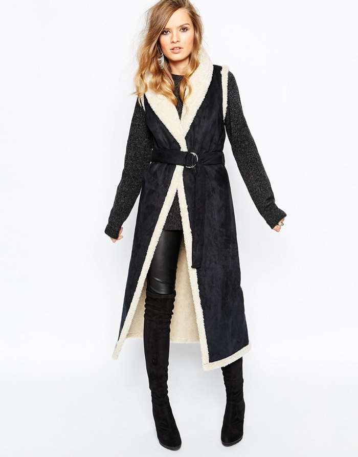 Shop Faux Shearling Jackets & Vests
