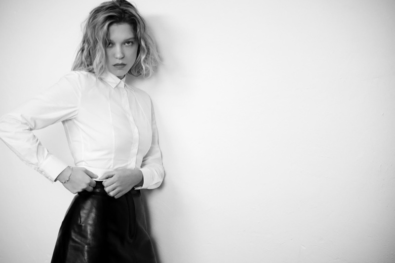 Lea Seydoux poses for Eric Guillemain in the shoot