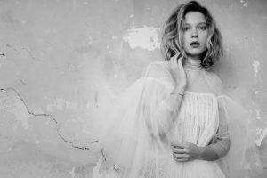 Lea Seydoux is a Sheer Beauty for GQ Italy by Eric Guillemain