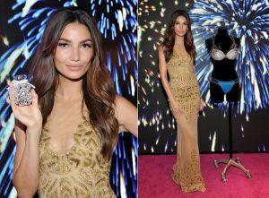 Lily Aldridge Shines in Zuhair Murad at Unveiling of Victoria's Secret Fantasy Bra