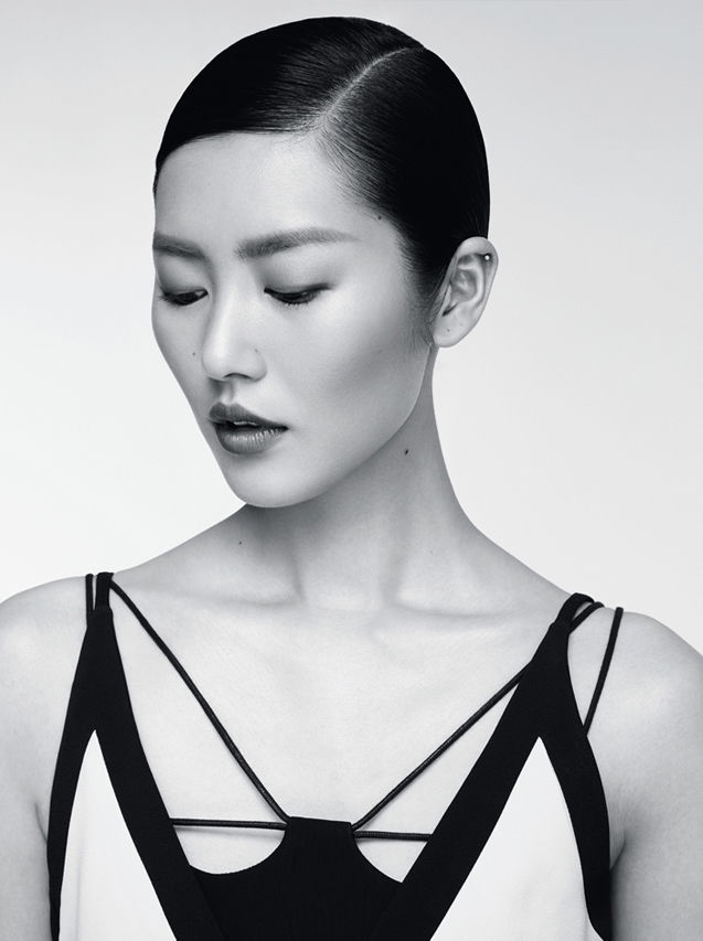 Liu Wen stars in Marie Claire China's December issue