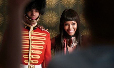 Naomi Campbell for Burberry Festive film