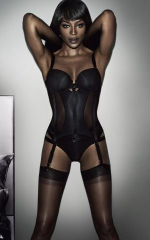 Naomi Campbell Designs (and Models) Her Own Lingerie Line