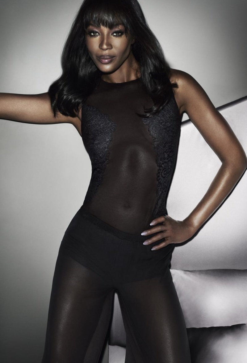 Naomi Campbell Yamamay Lingerie Ad Campaign 2015/2016