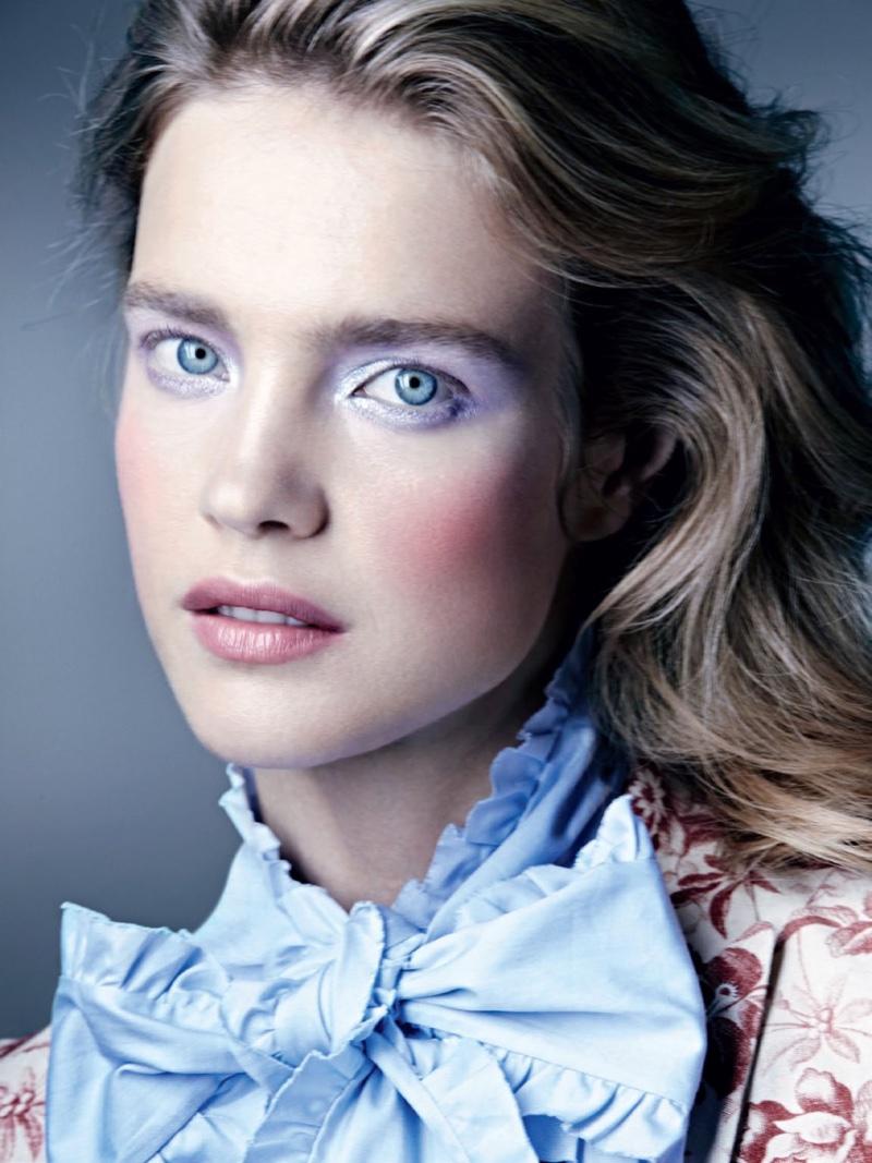 Natalia Vodianova By Paolo Roversi For Vogue Russia: Natalia Vodianova Is A Pure Beauty In Allure Russia Cover