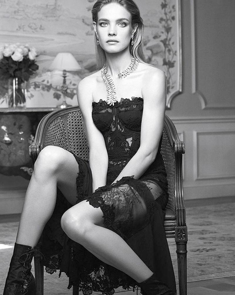 Natalia Vodianova By Paolo Roversi For Vogue Russia: Natalia Vodianova Vogue Spain December 2015 Cover